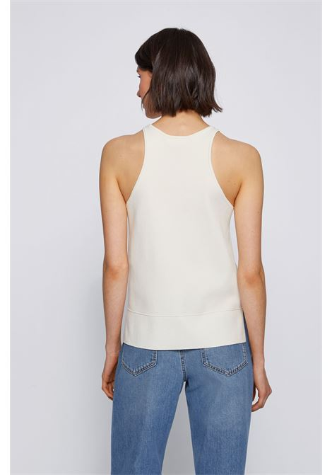 Regular fit tank top with a sporty style with a round neckline BOSS | Knitwear | 50453969118