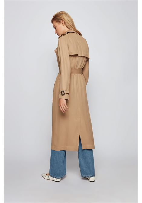 Double-breasted trench coat with stitched belt BOSS |  | 50454226262