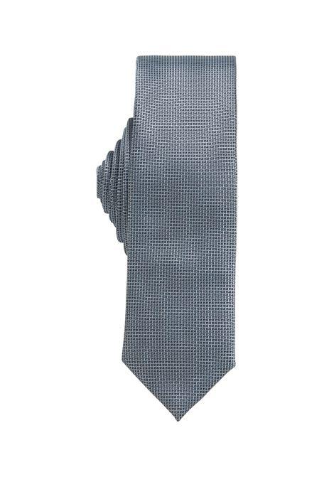 Silk tie with micro jacquard motif BOSS | Ties | 50455247401