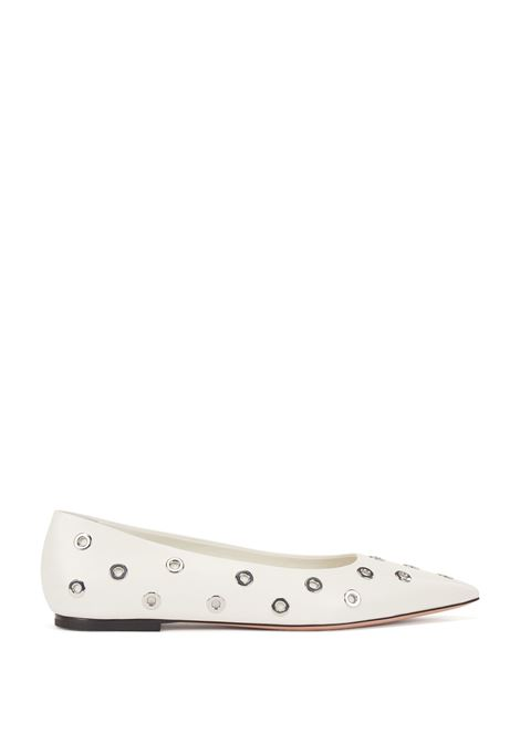 Italian leather ballet flats with metal eyelets BOSS |  | 50456206114