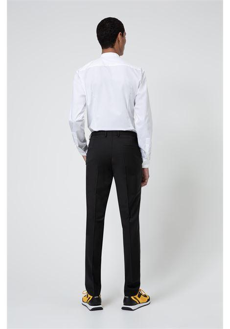 Abito extra slim fit in misto lana super flessibile HUGO | Abiti Uomo | 50450994001