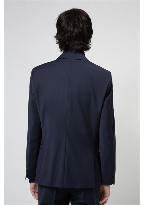 Abito extra slim fit in misto lana super flessibile HUGO | Abiti Uomo | 50450994405