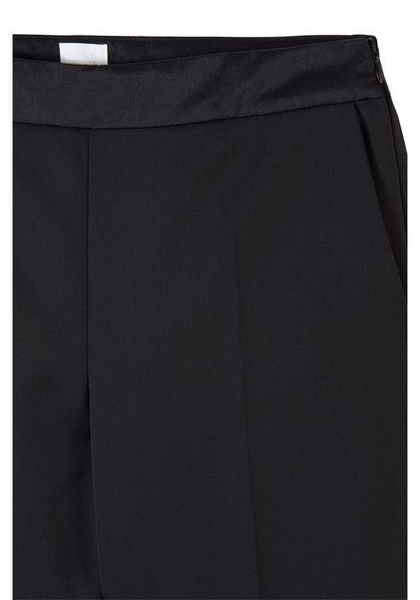Pantaloni da smoking regular fit con finiture in seta BOSS | Pantaloni | 50441976001