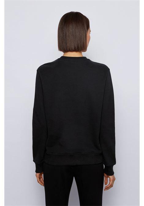 Crewneck sweatshirt with crystal boss logo BOSS |  | 50442497001