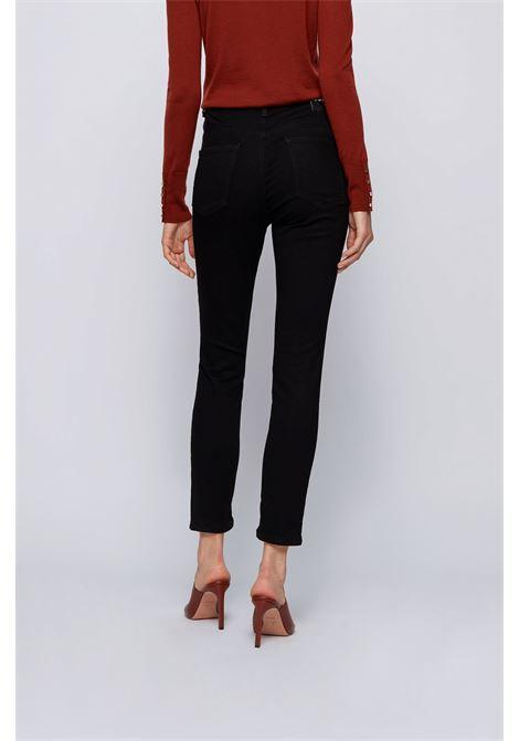 Jeans super skinny fit in denim elasticizzato Stay Black BOSS | Jeans | 50443156001