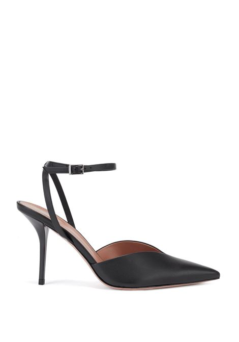 Italian leather slingback décolleté with ankle strap BOSS |  | 50447420001