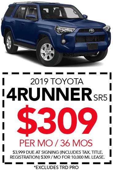 Shop New 2019 Toyota 4Runner SR5