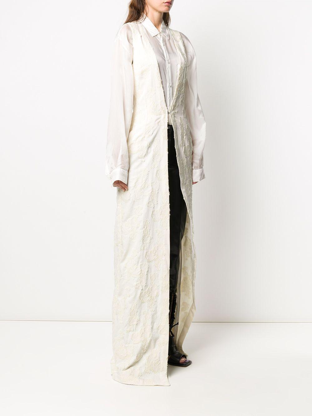 Cappotto lungo smanicato ANN DEMEULEMEESTER | Cappotto | 2002-1164-192003