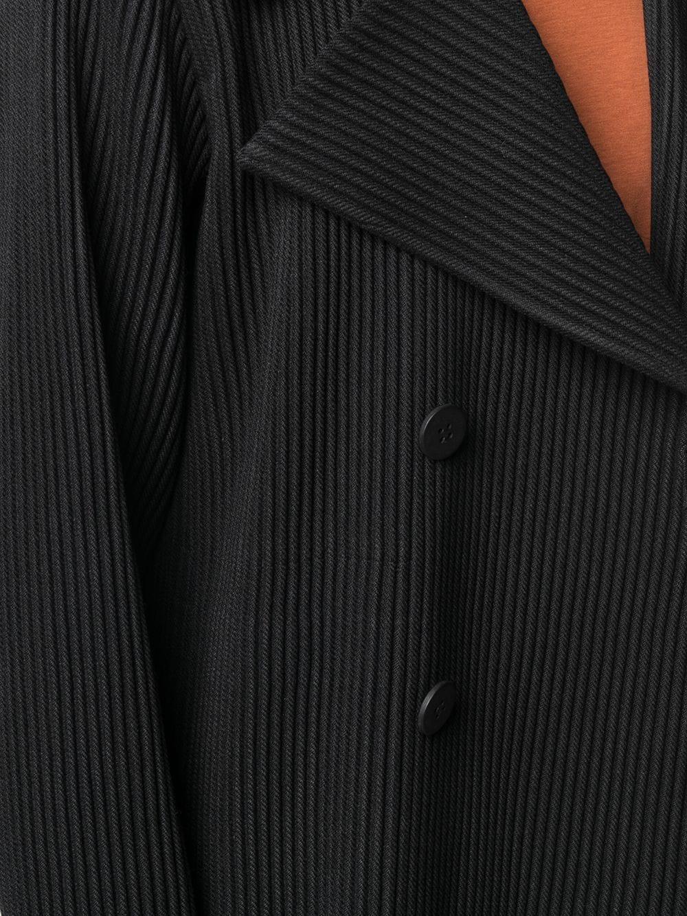 Cappotto doppiopetto plissettato HOMME PLISSE | Cappotto | HP08FA00715