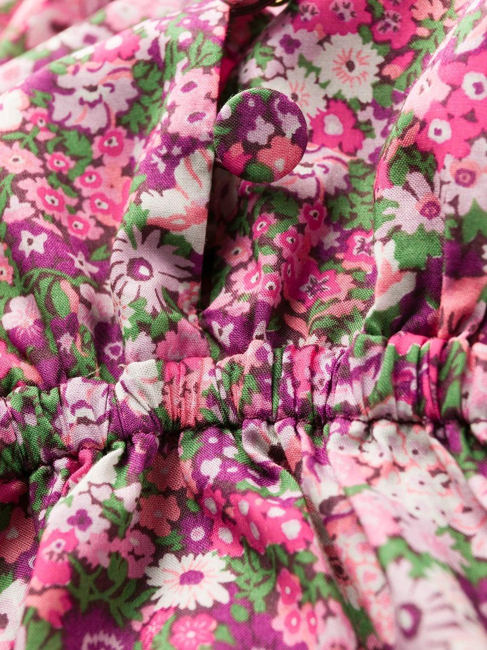 Abito corto a fiori PHILOSOPHY di LORENZO SERAFINI | Abito | J045557481188