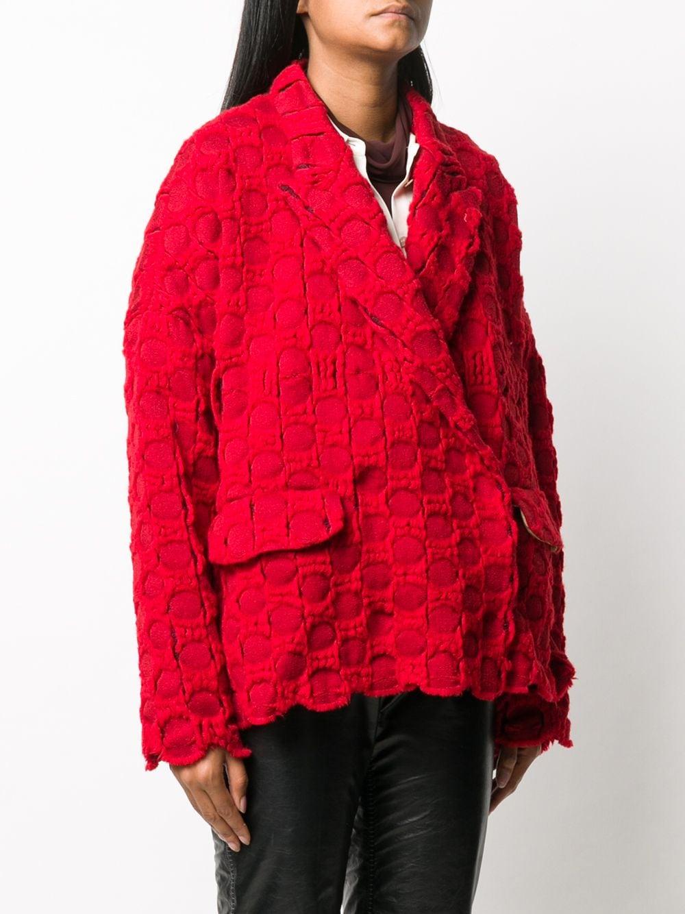 Blazer monopetto oversize. UMA WANG | Giacca | UP6006UW700