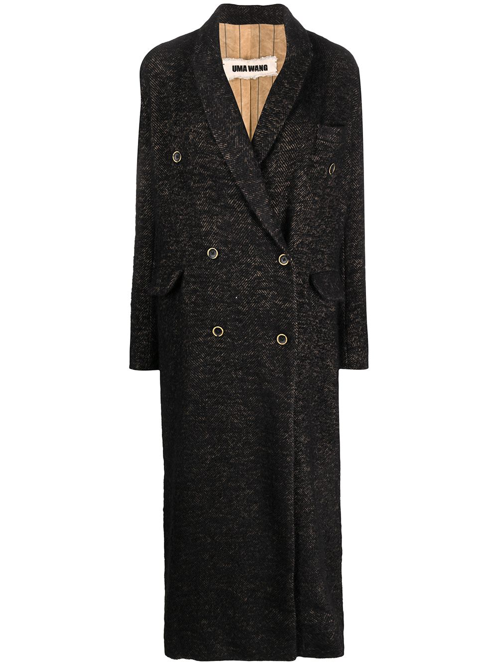Cappotto doppiopetto UMA WANG | Cappotto | UP8011UW092