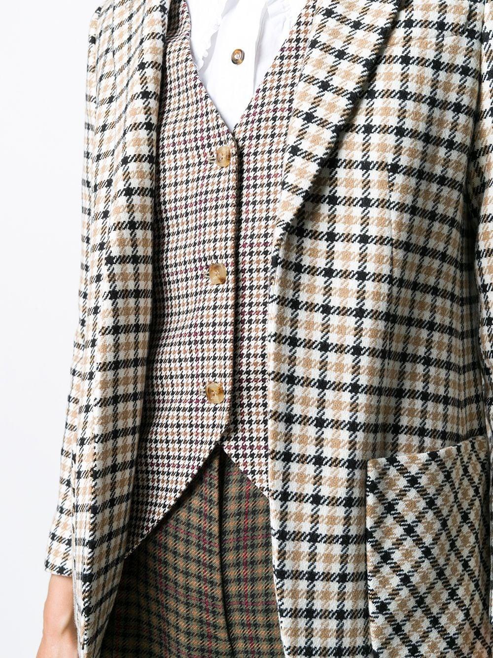 Blazer a quadri VIVETTA | Giacca | L011-3132Q191