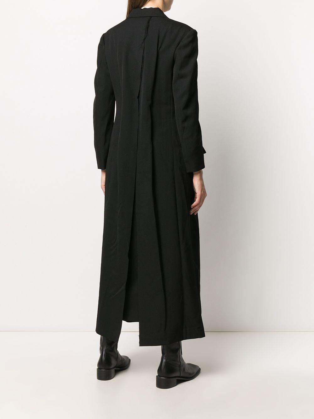 Cappotto lungo monopetto YOHJI YAMAMOTO | Cappotto | FR-C01-1011