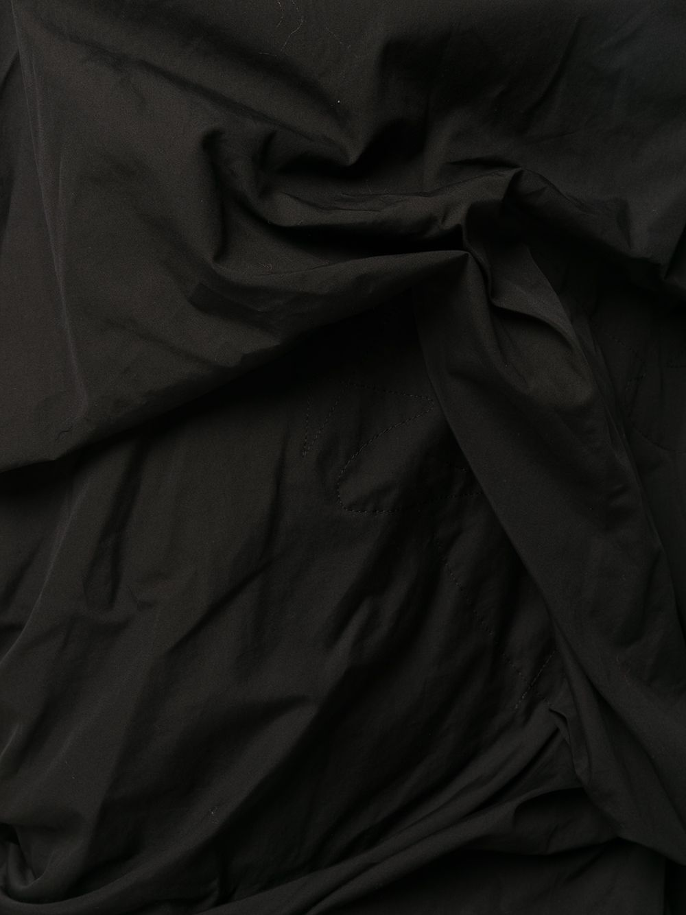 Abito lungo drappeggiato YOHJI YAMAMOTO | Abito | FR-D19-0012