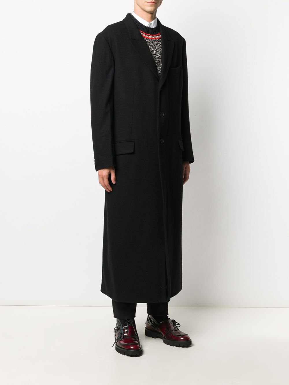 Cappotto monopetto YOHJI YAMAMOTO | Cappotto | HR-J48-1441
