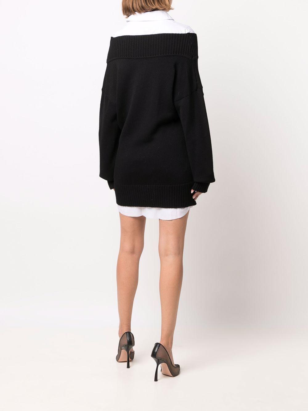 abito corto con camicia e maglia Act n.1   Abito   PFK211203