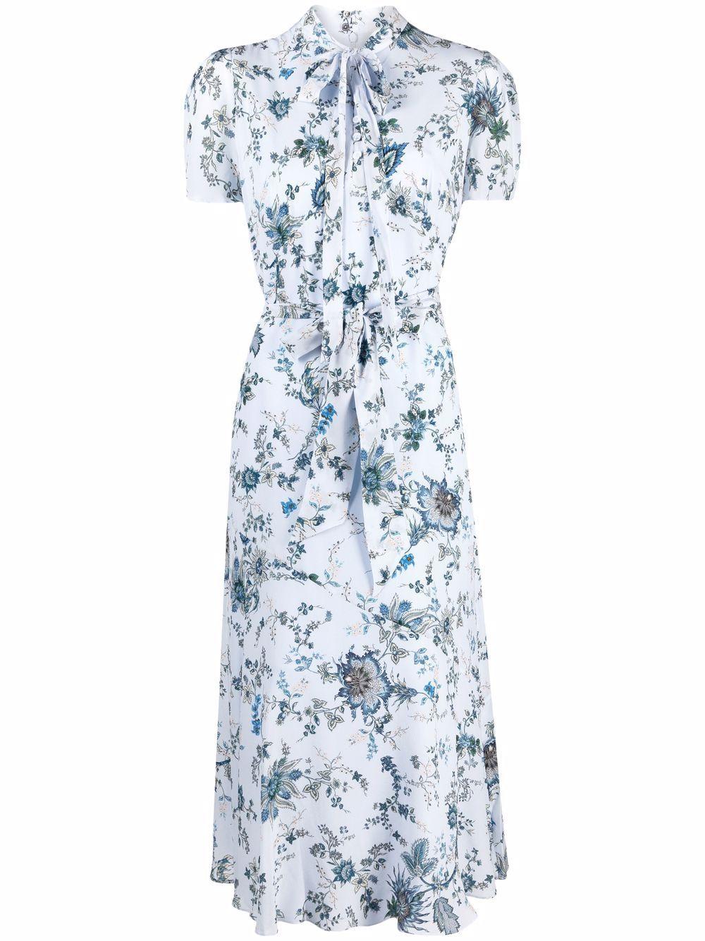 ERDEM   Dress   21478HVMCSKY/BLUE