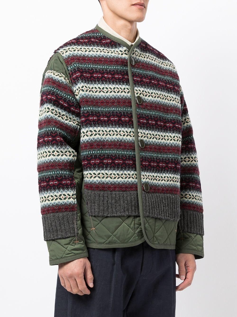 giacca trapuntata con maglia JUNYA WATANABE MAN   Giacca   WH-J0101