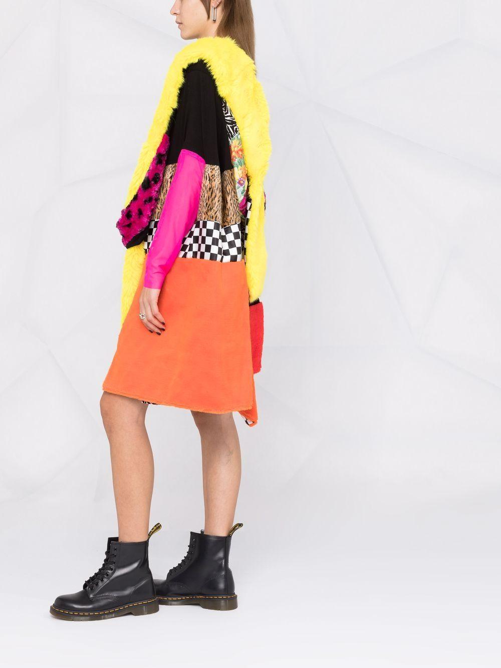 abito corto con pelliccia ecologica JUNYA WATANABE | Abito | JH-O0051