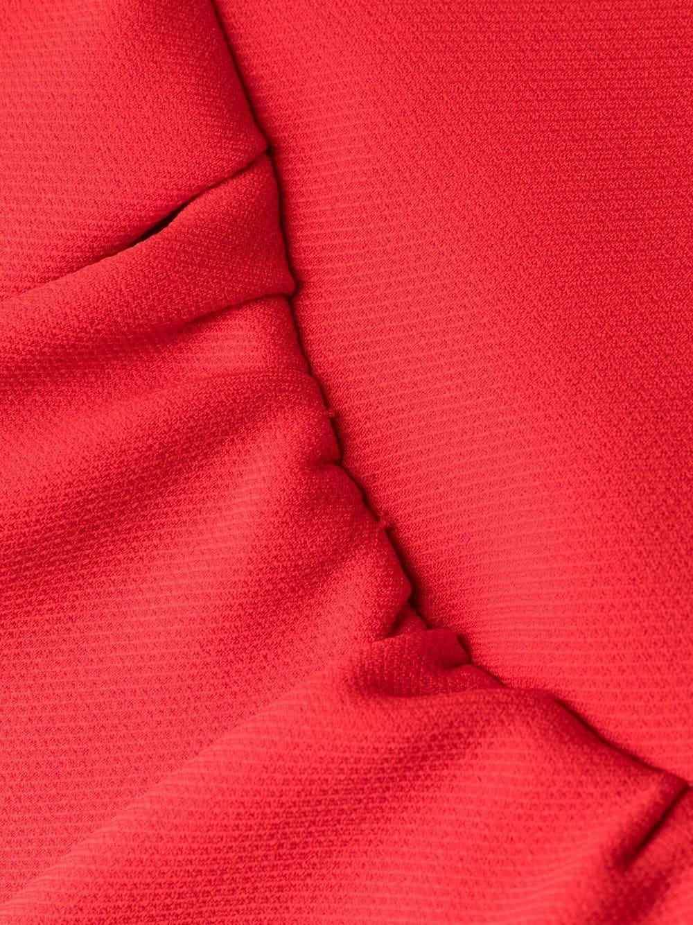 abito manica lunga con volant sul fondo PHILOSOPHY di LORENZO SERAFINI | Abito | A04507123112
