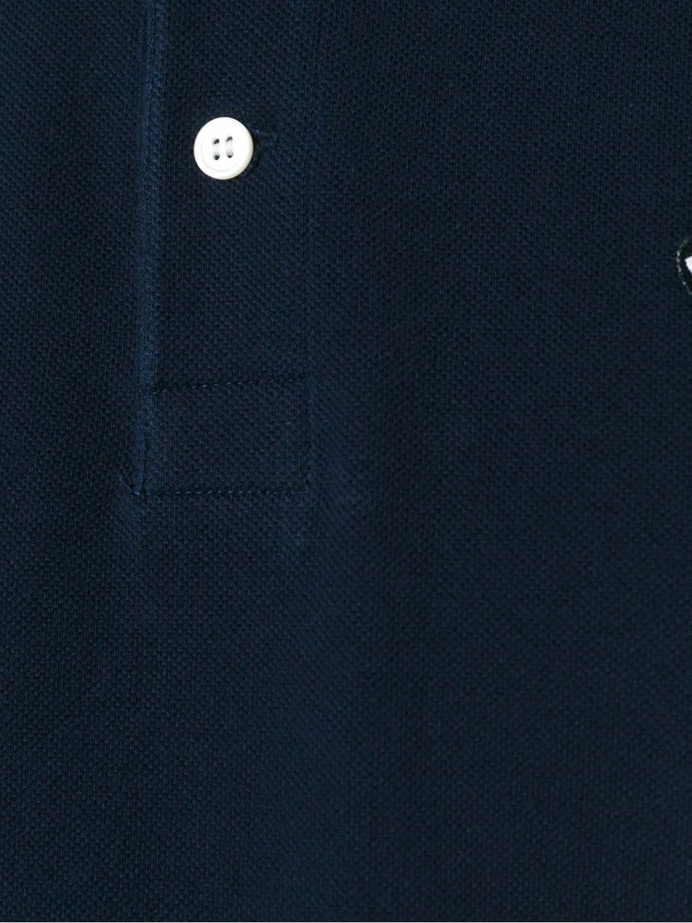 polo manica corta con logo PLAY COMME DES GARCONS   Polo   P1T2062
