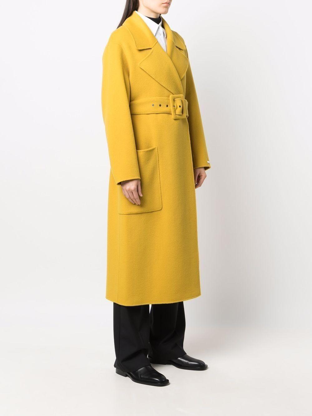 cappotto double  ampio con cintura SPORTMAX | Cappotto | DINAR023
