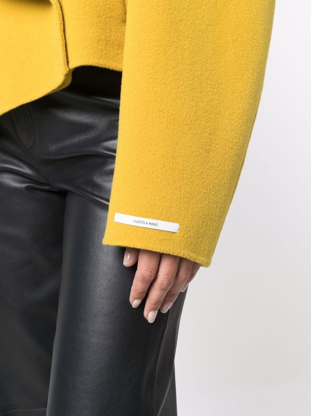 giaccone corto con lavorazione double SPORTMAX | Giaccone | KUENS023