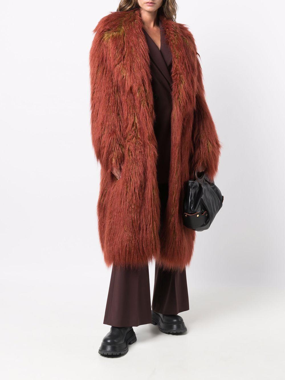 cappotto in pelliccia ecologica SPORTMAX   Cappotto   UVINA002