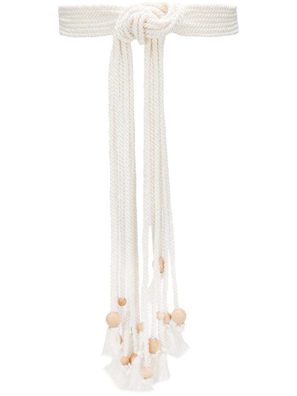 Cintura con nodo PHILOSOPHY di LORENZO SERAFINI | Cintura | A3004 21743