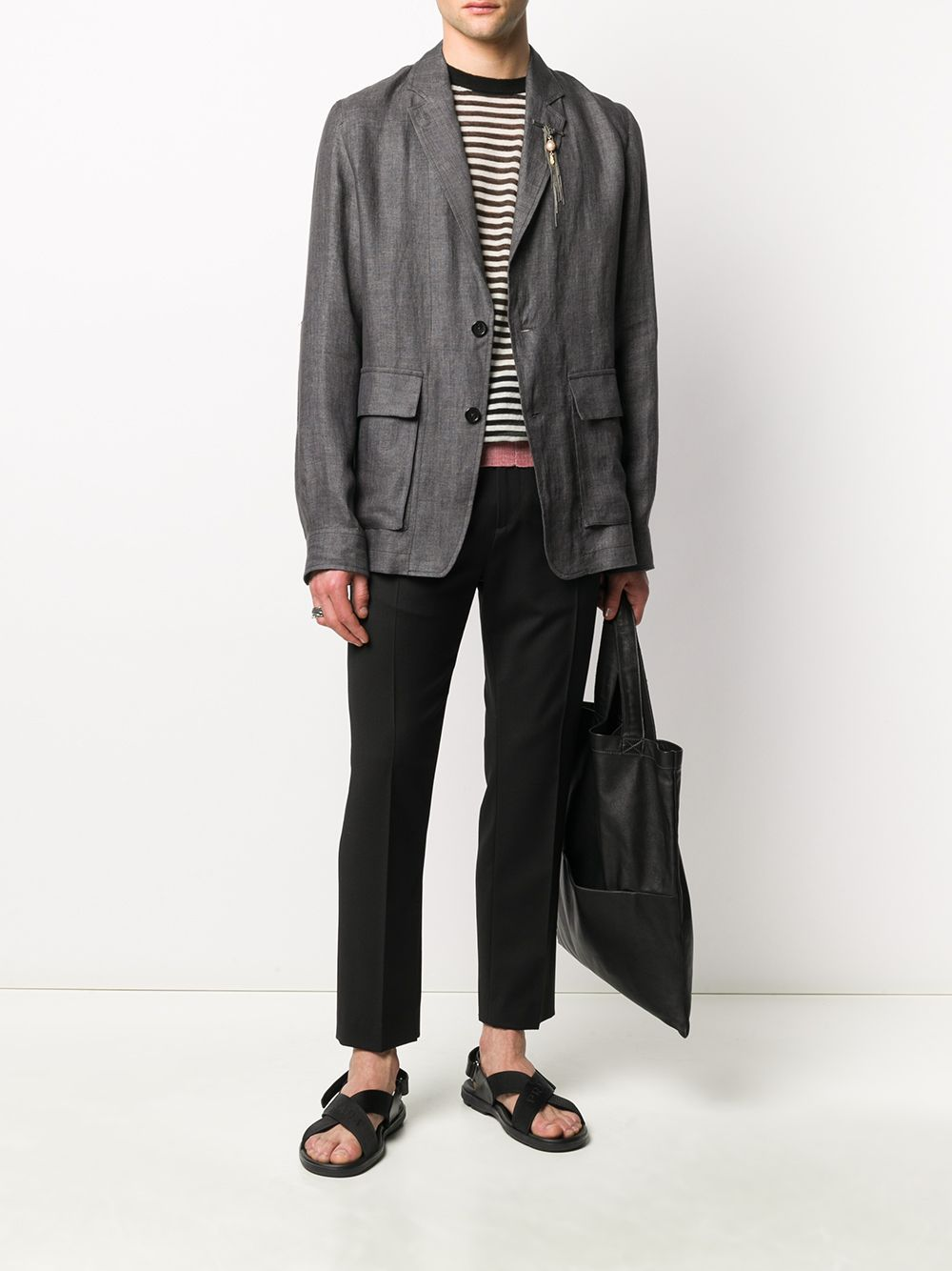 Giacca in lino ANN DEMEULEMEESTER | Giacca | 2007-3002-165060