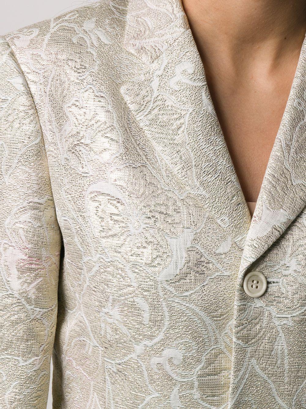 Giacca con tessuto a fiori COMME DES GARCONS | Giacca | GE-J010-0511