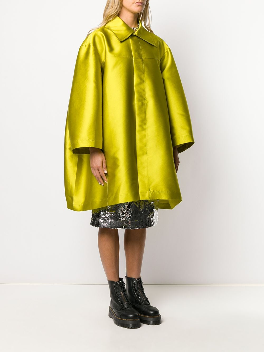Cappotto oversize MARQUES ALMEIDA   Cappotto   RST20JK0119TFTLIME