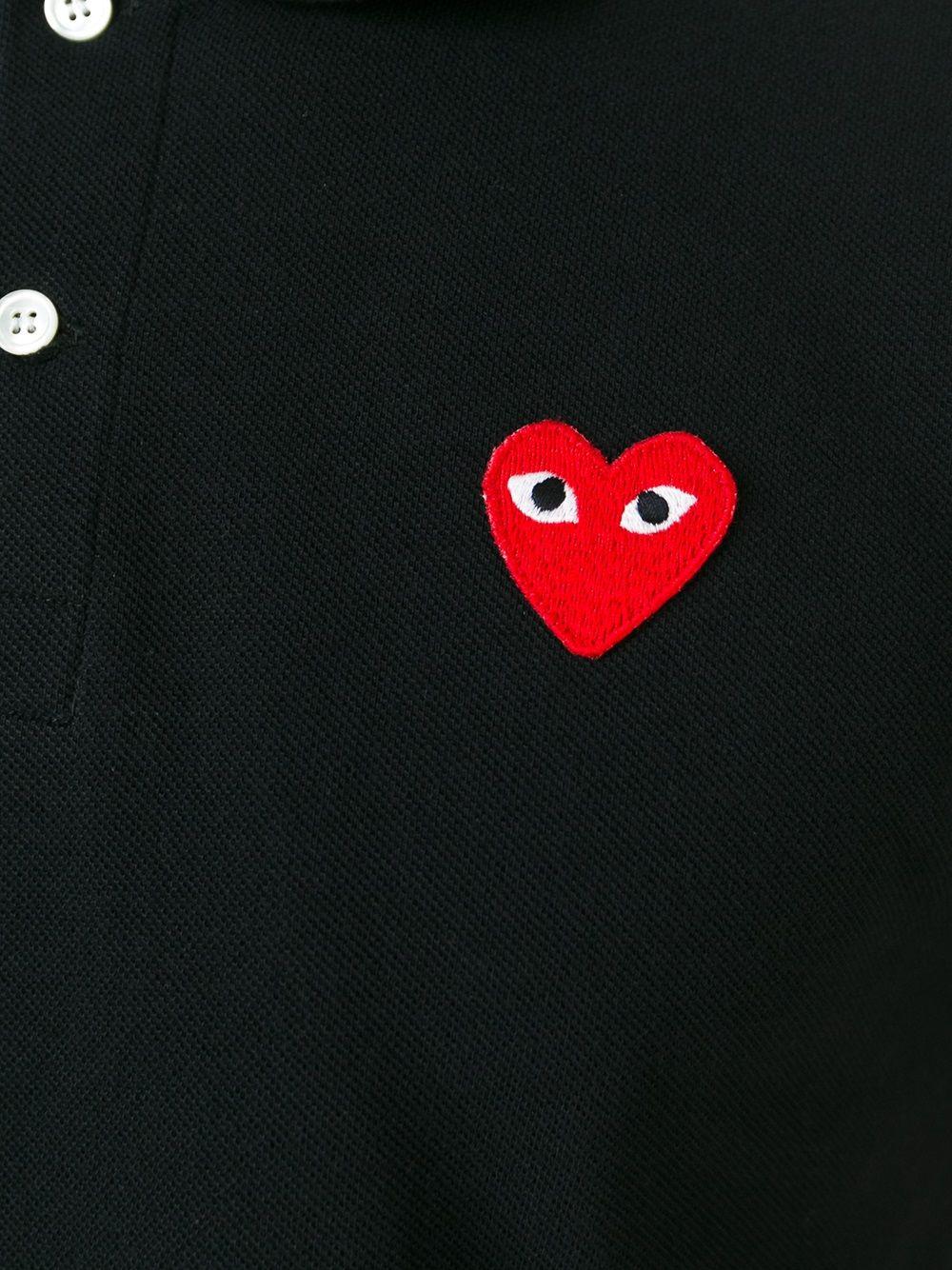 Polo con applicazione cuore PLAY | Polo | P1T0061