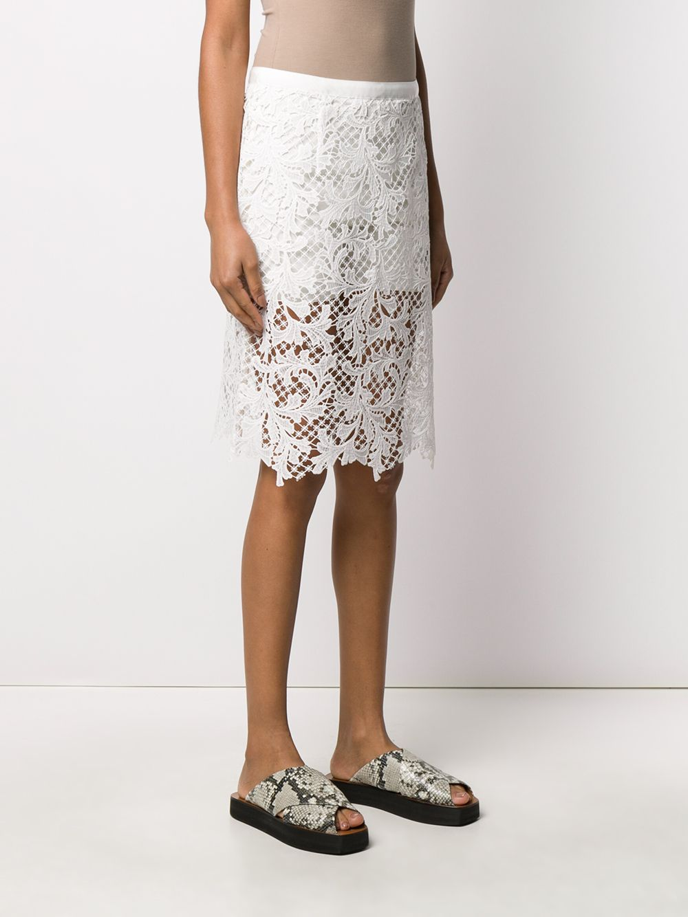 Gonna in pizzo SACAI | Gonna | 20-04941101