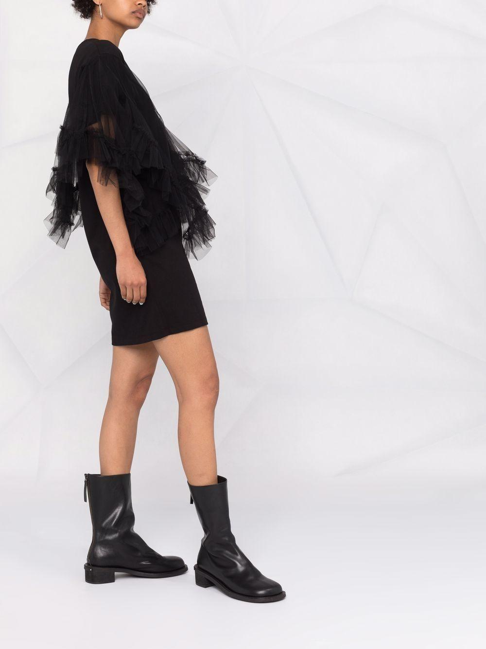 mini abito in jersey con dettaglio in  tulle Act n.1 | Abito | SSTS210403