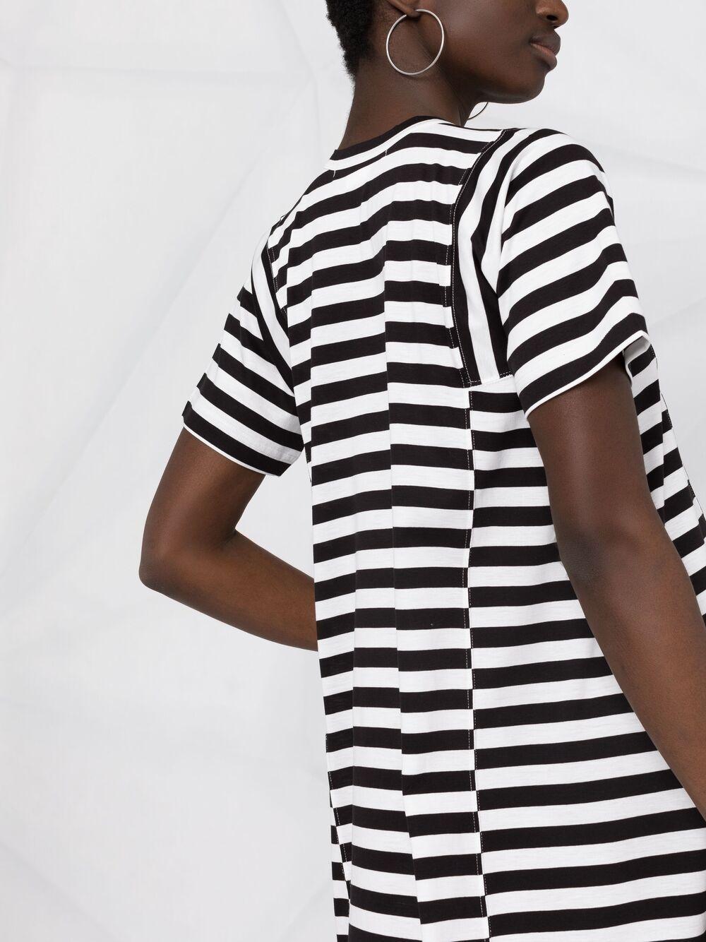 Abito a righe modello T-shirt COMME DES GARCONS COMME DES GARCONS | Abito | RG-T0221