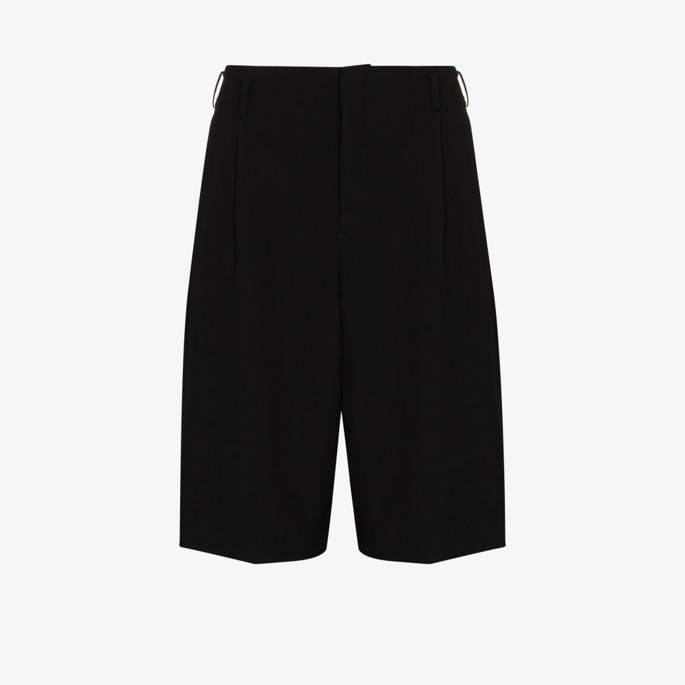 Pantalone corto ampio con pences COMME DES GARCONS Homme Plus | Shorts | PG-P045-0511