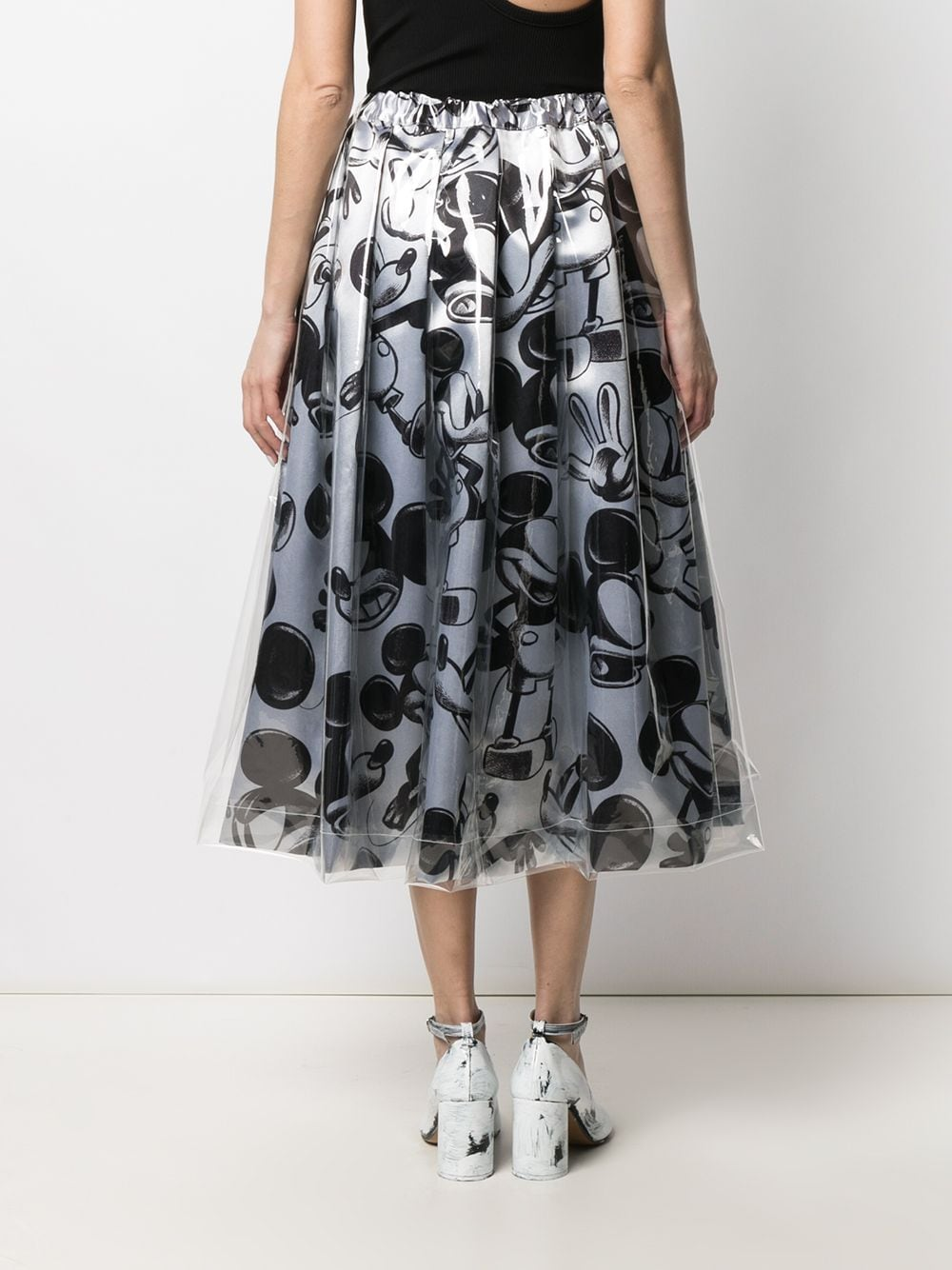 Gonna con stampa Mickey Mouse COMME DES GARCONS | Gonna | GG-S011-0511