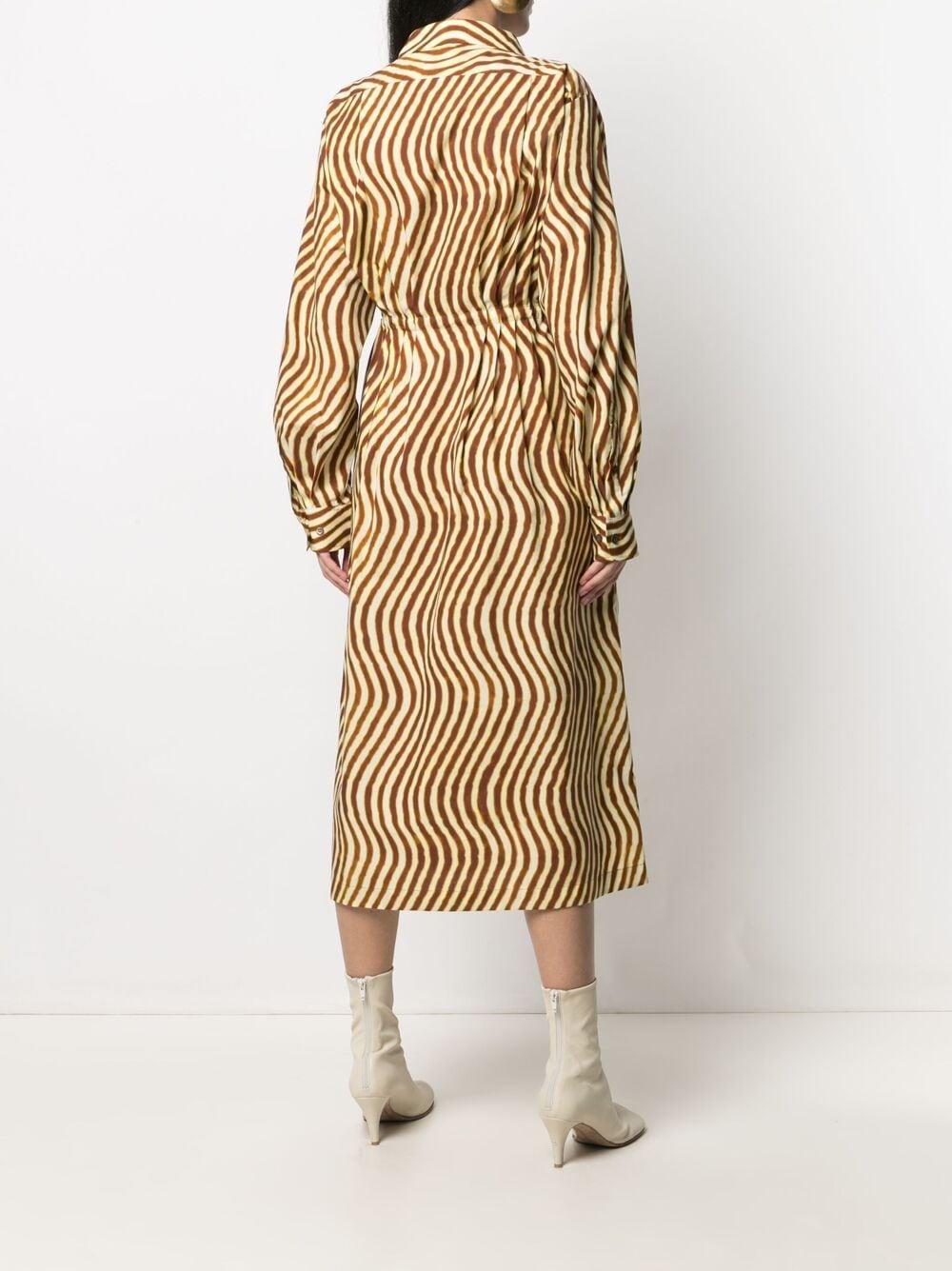 Abito camicia con scollo largo DRIES VAN NOTEN | Abito | DARLO2009701