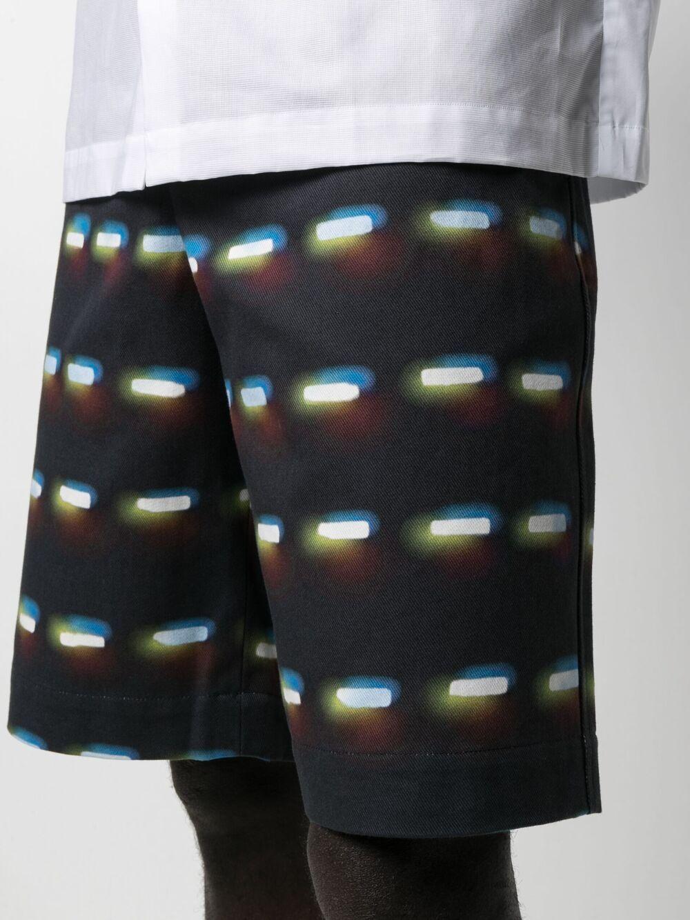 shorts con stampa Len Lye DRIES VAN NOTEN   Pantalone   PENNYSHORT2024900