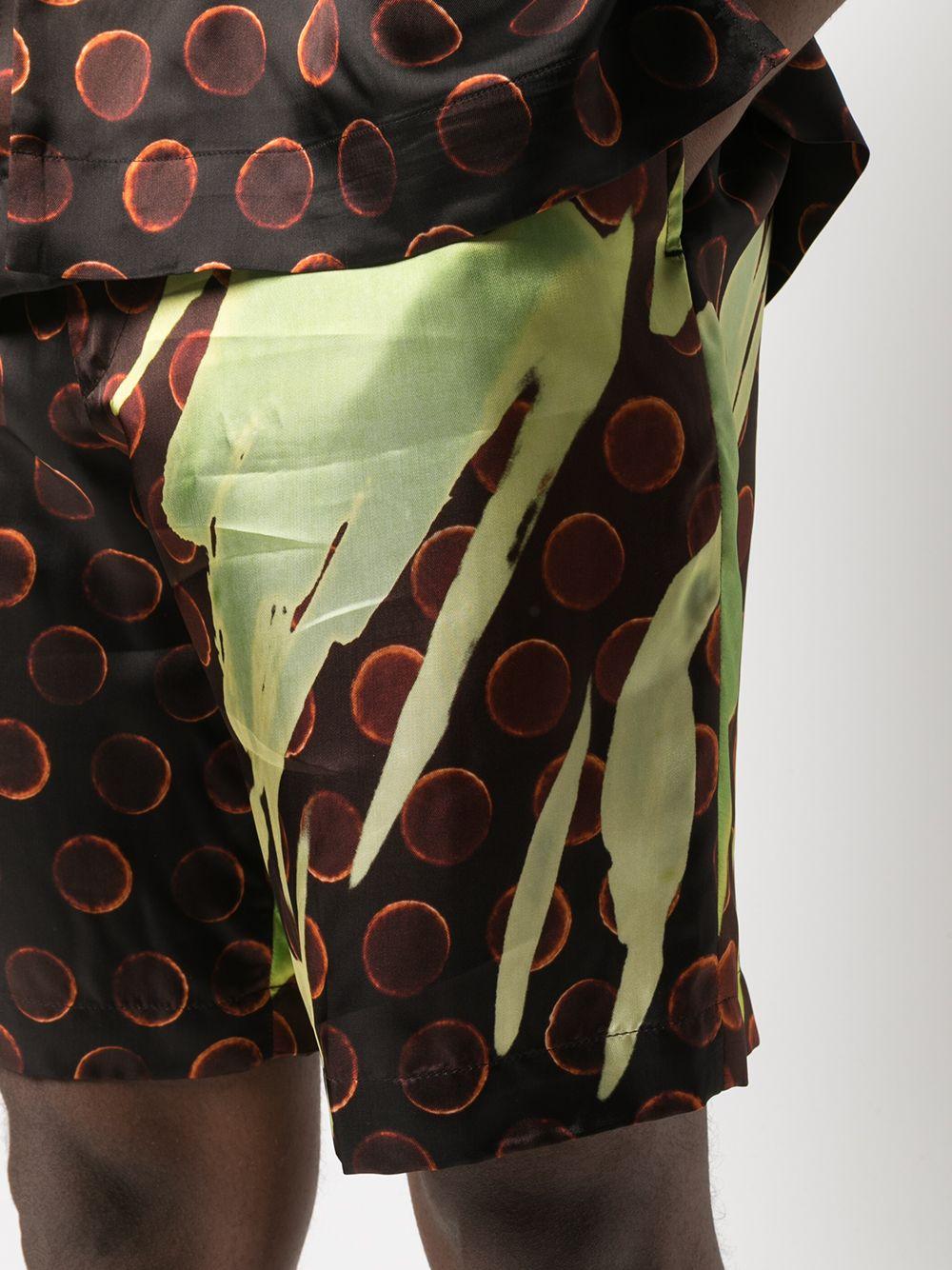 Pantalone corto con elastico DRIES VAN NOTEN | Shorts | PIPERI2074201
