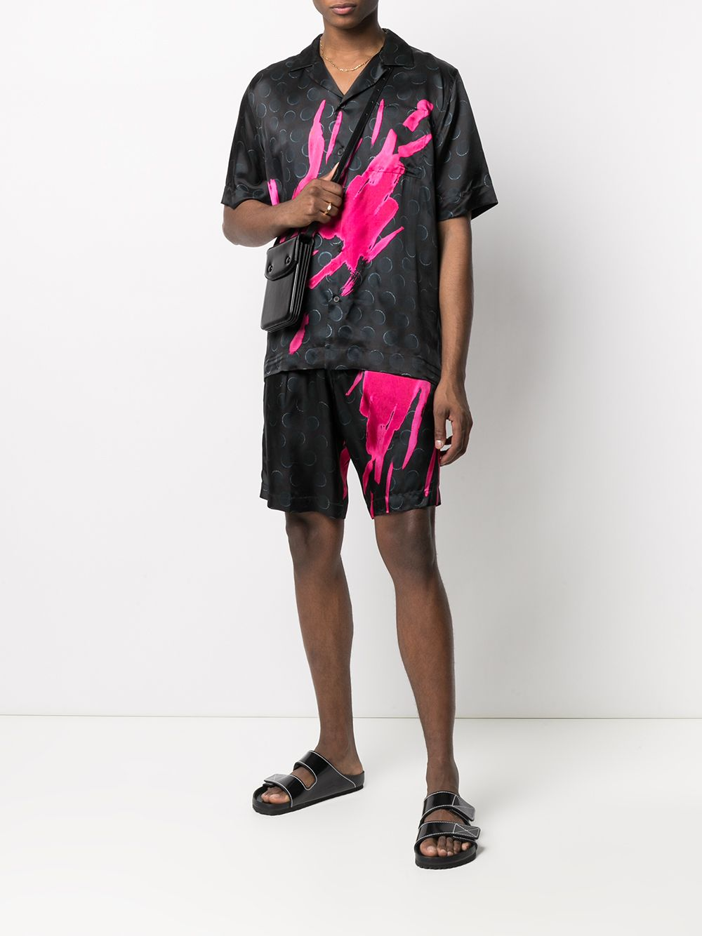 shorts con elastico in vita DRIES VAN NOTEN   Shorts   PIPERI2074304