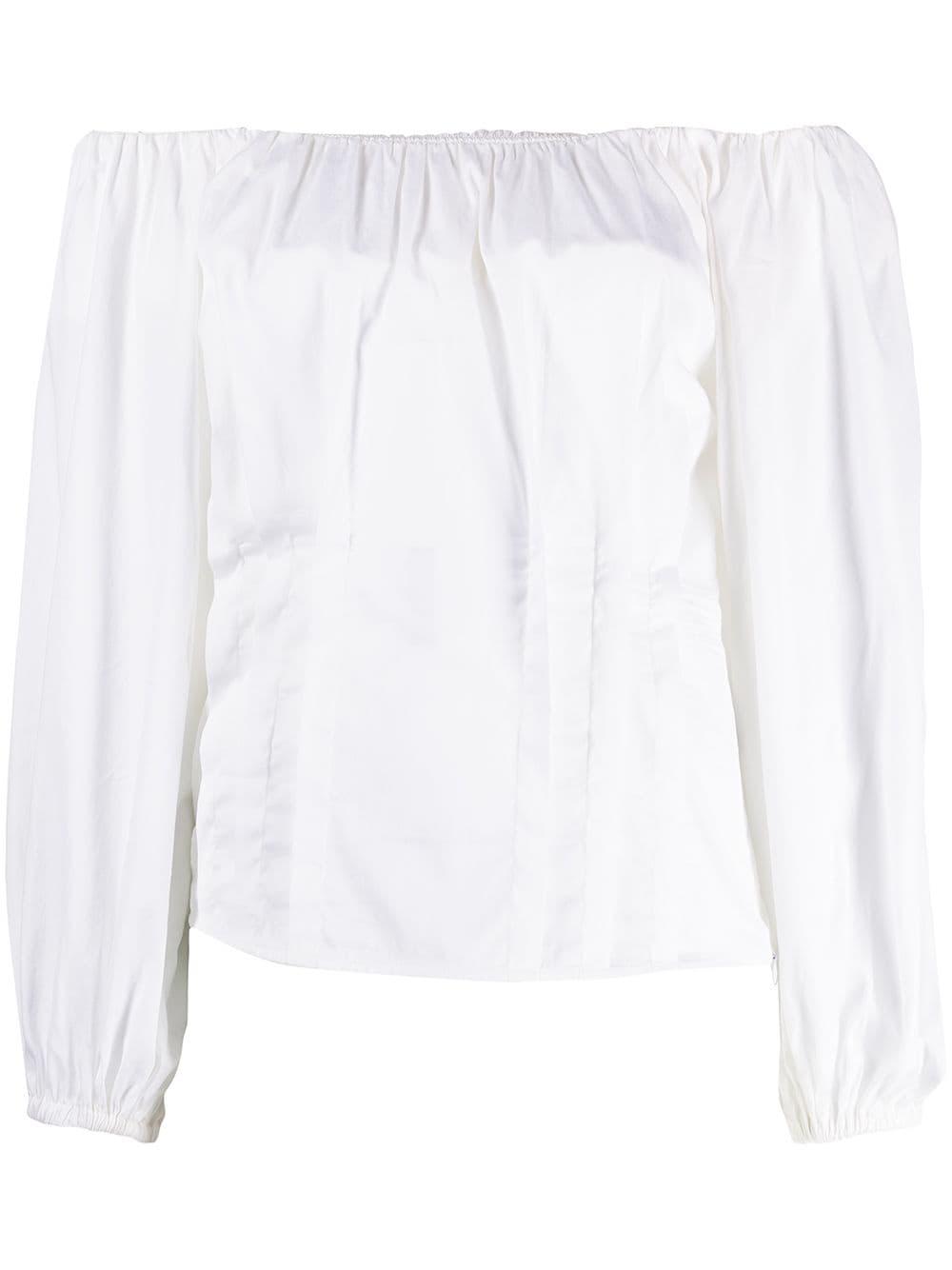 Blusa con maniche lunghe a palloncino FEDERICA TOSI | Blusa | FTE21BL067.0PP00380001