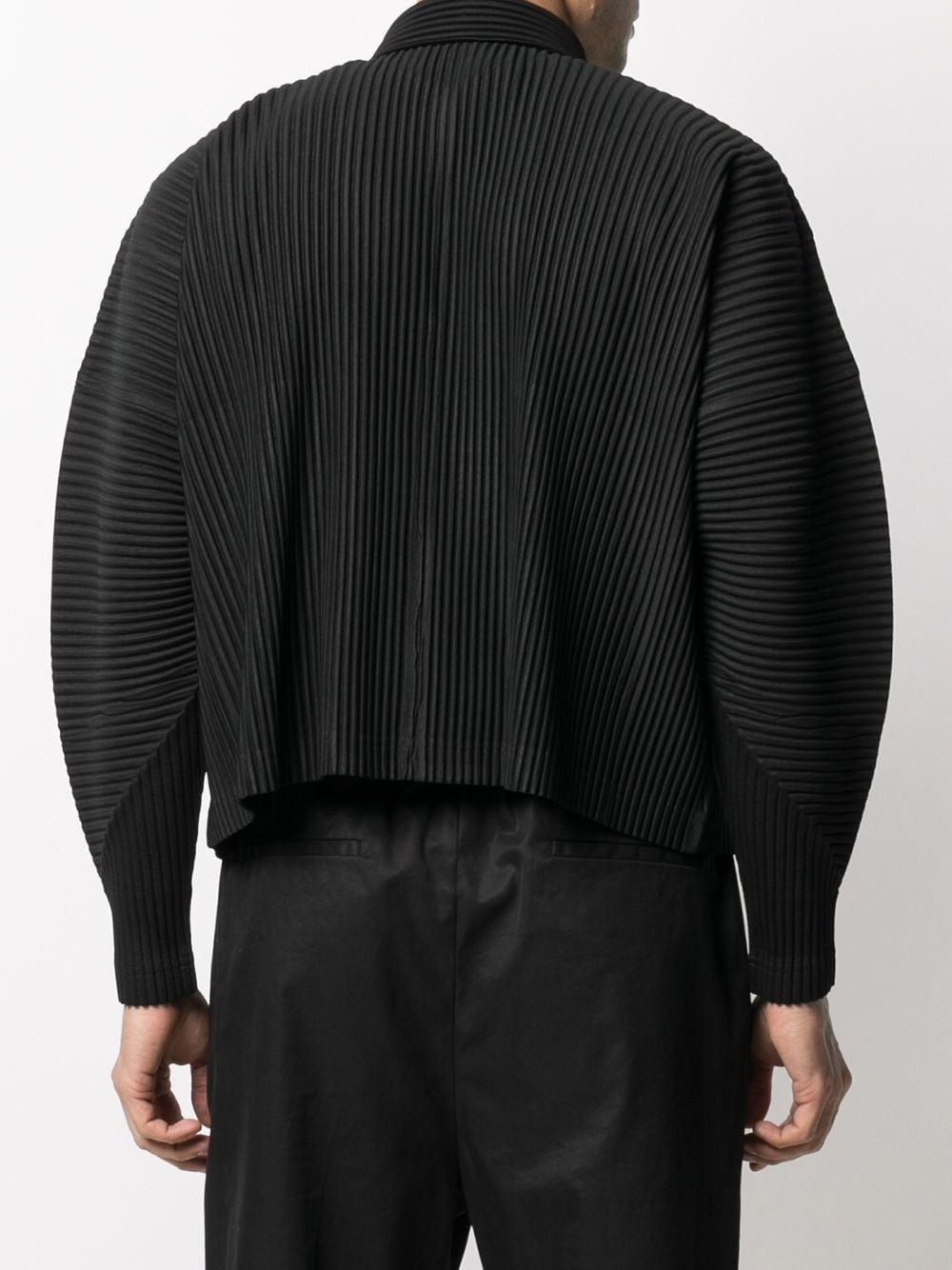 Blusa plissettata maniche lunghe HOMME PLISSE | Blouson | HP16JL10515