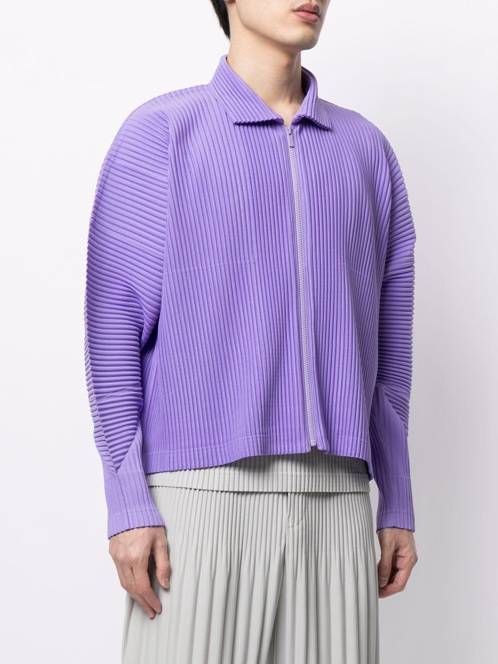 Blusa plissettata maniche lunghe HOMME PLISSE | Blouson | HP16JL10581