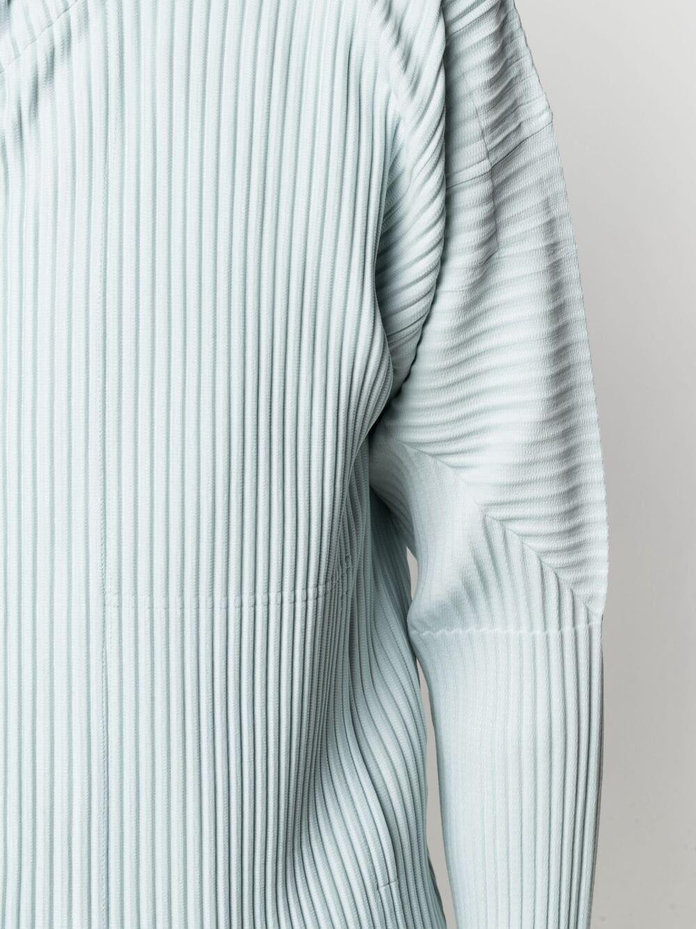 felpa cappuccio con zip HOMME PLISSE | Felpa | HP16JL11011