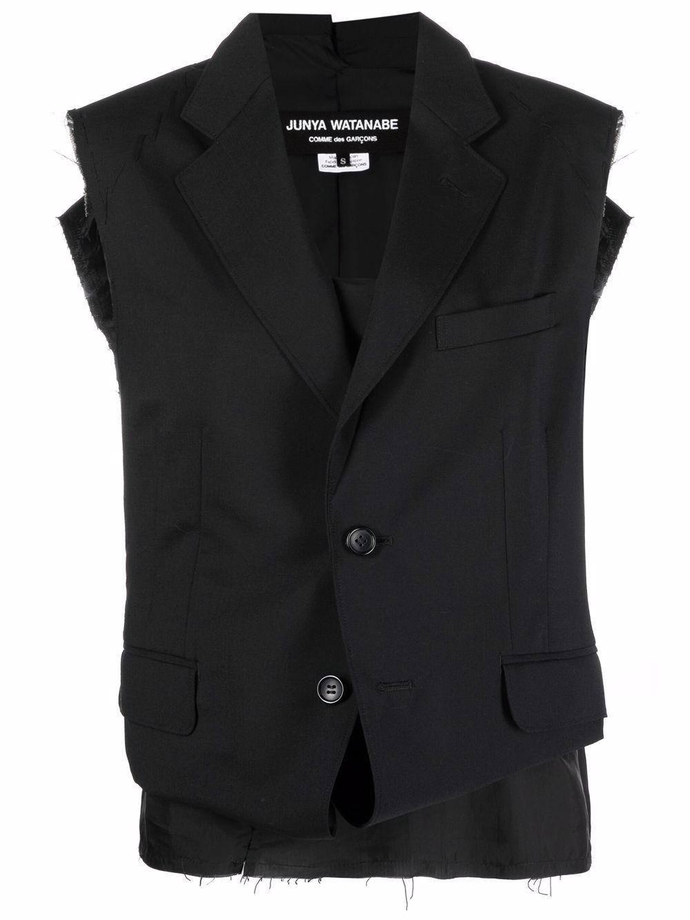 giacca smanicata + top pezzo unico JUNYA WATANABE | Giacca | JG-J012-0511