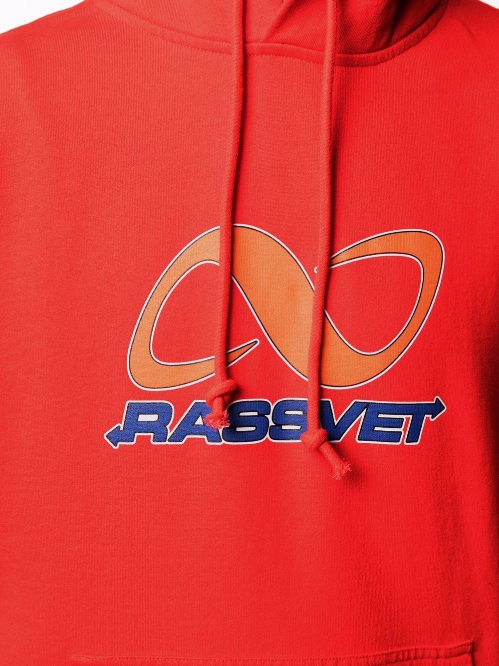 felpa con cappuccio e logo stampato PACCBET | Felpa | PACC8T0263