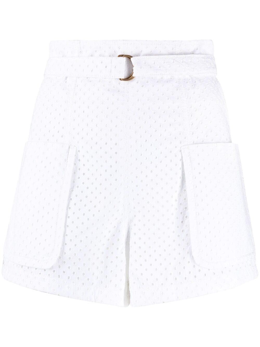 Shorts in pizzo sangallo PHILOSOPHY di LORENZO SERAFINI   Shorts   A030421370001